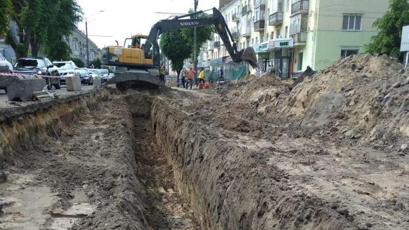 Коли у Луцьку завершать ремонт частини проспекту Волі