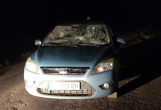 Біля Луцька таксист збив двох людей. Очевидці кажуть, що був п'яним. ВІДЕО