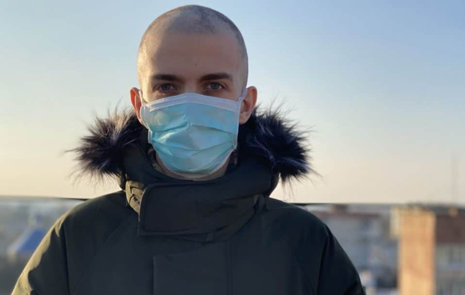 20-річний хлопець з Луцька бореться з раком. Потрібна допомога