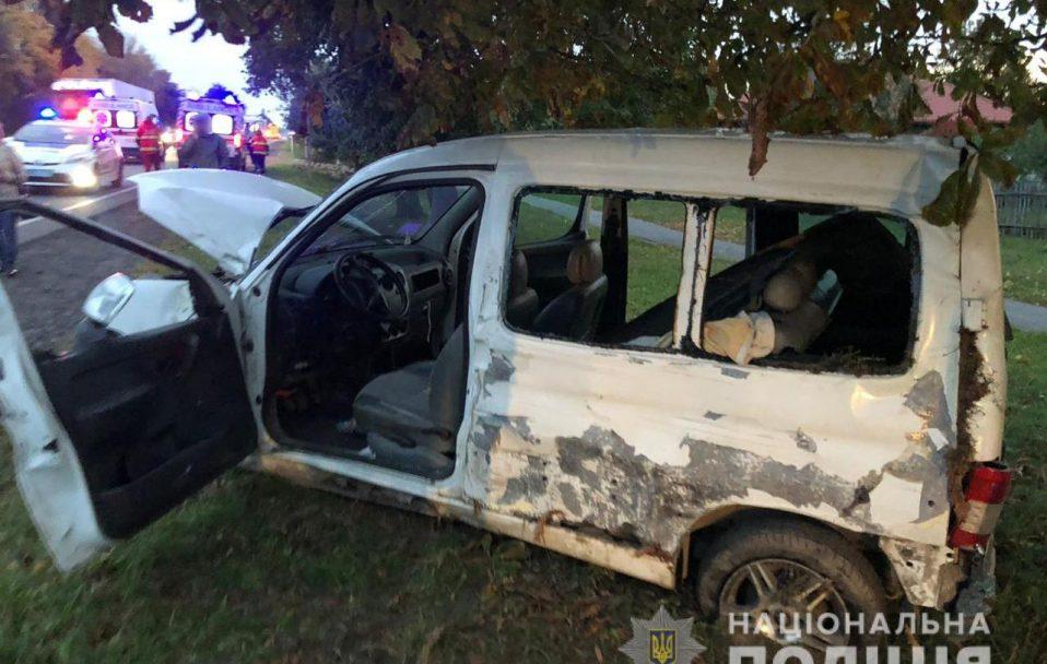 У Луцькому районі Fiat врізався у Citroen: є постраждалі. ФОТО