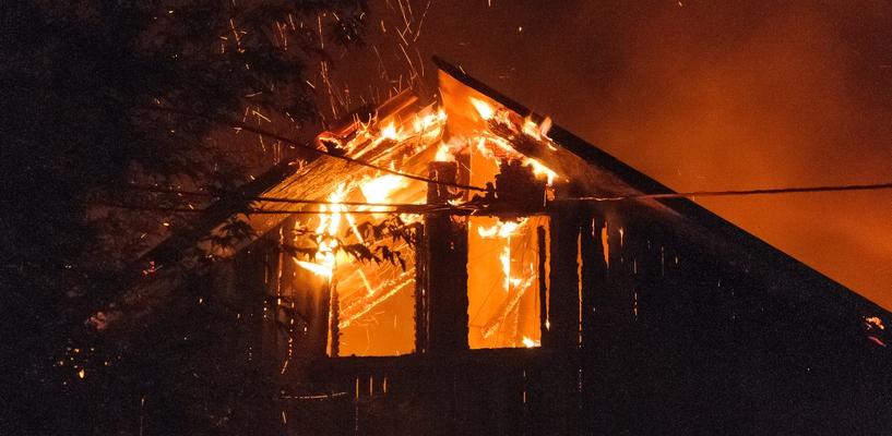 На Волині у пожежі загинули чоловік і жінка