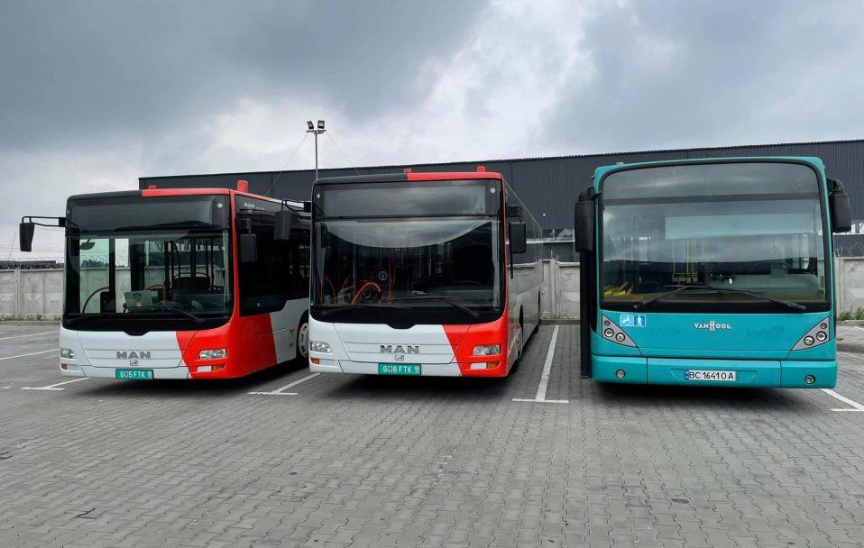 У Луцьку їздитимуть нові автобуси. ФОТО