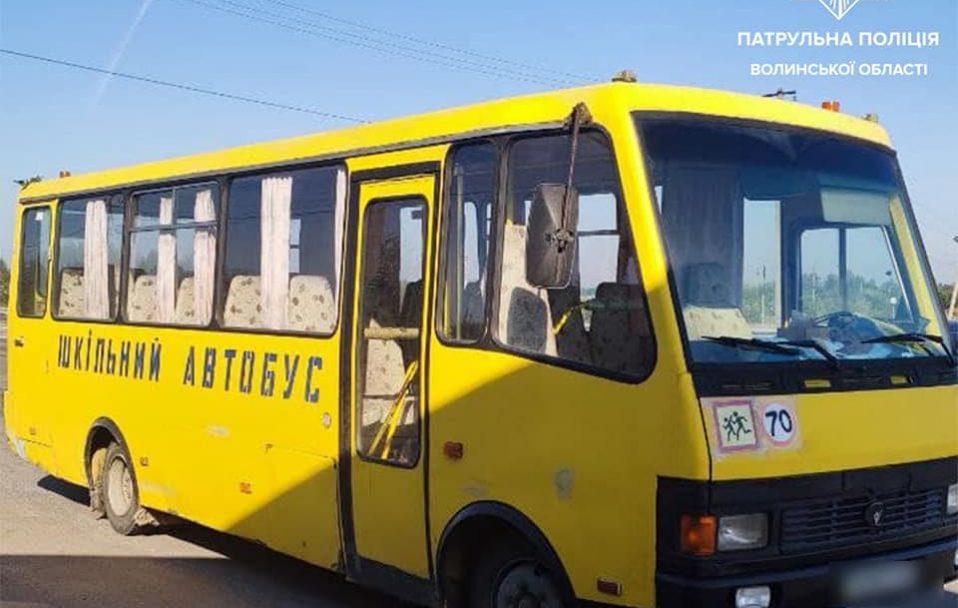 Водій шкільного автобуса, який їхав п'яний за кермом, написав заяву на звільнення