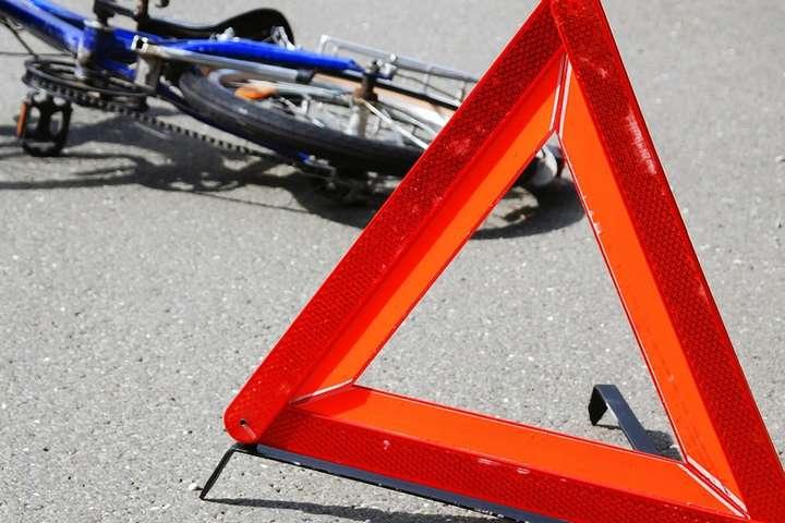 На Волині авто збило 8-річного велосипедиста. Дитина у важкому стані