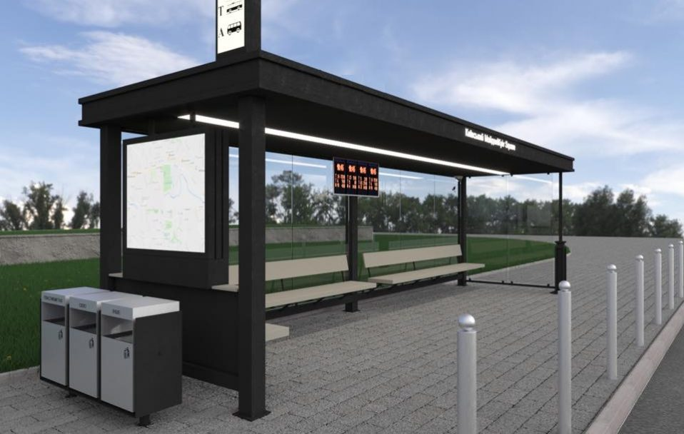 У Луцьку переносять дві зупинки громадського транспорту