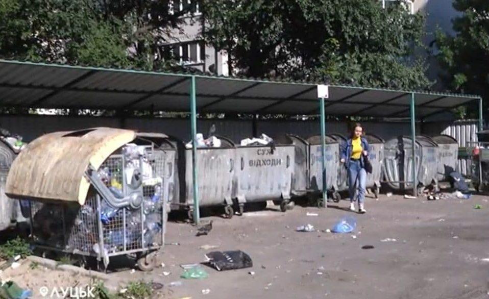 Мітинг проти смітників: лучани не хочуть звалища відходів біля своїх будинків. ВІДЕО