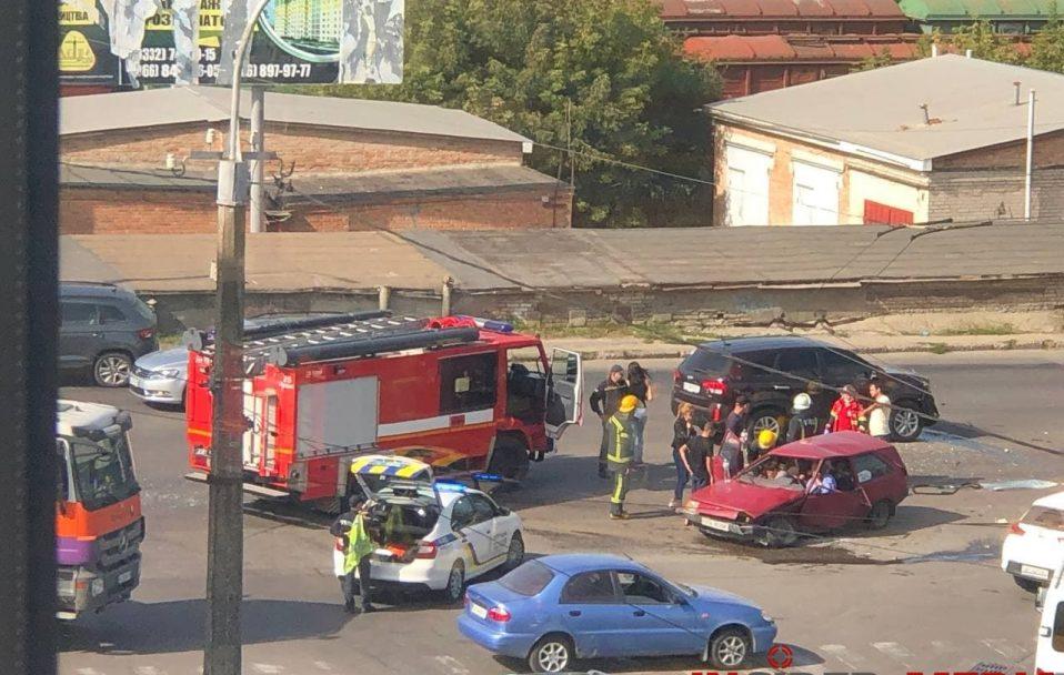 У Луцьку – аварія з потерпілими. ФОТО