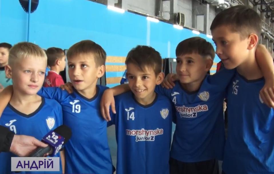 """""""Ярмарок футзалу"""": у Луцьку влаштували спортивні змагання. ВІДЕО"""