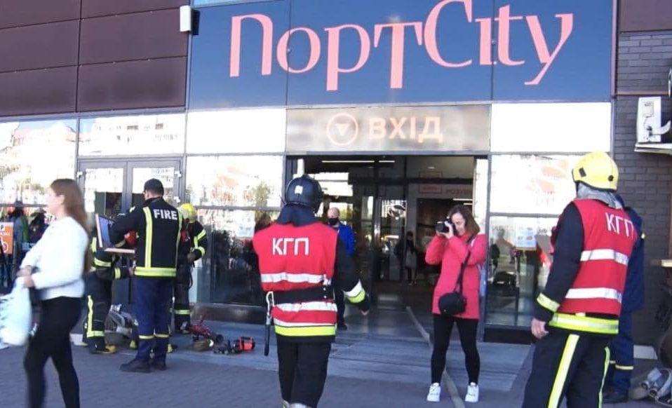Як у Луцьку в торгового-розважальному центрі «гасили» пожежу. ВІДЕО