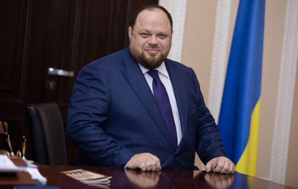 Руслан Стефанчук став новим головою Верховної Ради